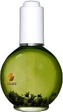 "Fragrances, Perfumes, Cosmetics Nail & Cuticle Oil with Flowers ""Grapefruit"" - Silcare Cuticle Oil Grapefruit Olive"