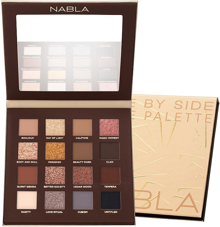 Eyeshdow Palette - Nabla Side By Side Nude Palette