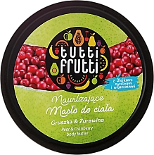 Fragrances, Perfumes, Cosmetics Body Oil - Farmona Tutti Frutti Pear Body Butter
