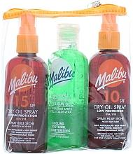 Fragrances, Perfumes, Cosmetics Set - Malibu (b/oil/100ml + b/oil/100ml + b/gel/100ml)