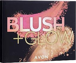 Makeup Palette - Avon Blush & Glow Face Palette (22 g) — photo N1