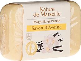 Fragrances, Perfumes, Cosmetics Magnolia Vanilla Oat Soap - Nature de Marseille Soap