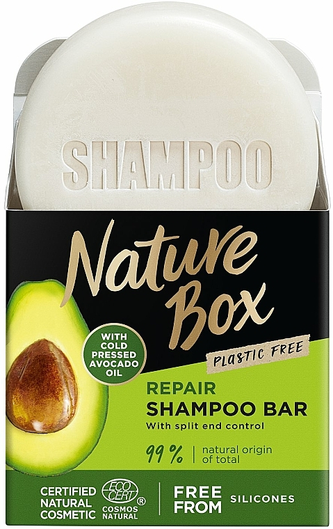 Hair Solid Shampoo - Nature Box Avocado Dry Shampoo