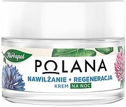 Fragrances, Perfumes, Cosmetics Moisturizing & Regenerating Night Cream - Polana
