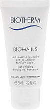 Fragrances, Perfumes, Cosmetics Hand Cream - Biotherm Biomains Age Delaying Hand & Nail Treatment