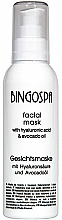 Fragrances, Perfumes, Cosmetics 100% Avocado Oil and Hyaluronic Acid Face Mask - BingoSpa