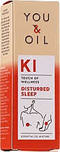 Fragrances, Perfumes, Cosmetics Essential Oil Blend - You & Oil KI-Disturbed Sleep Touch Of Welness Essential Oil