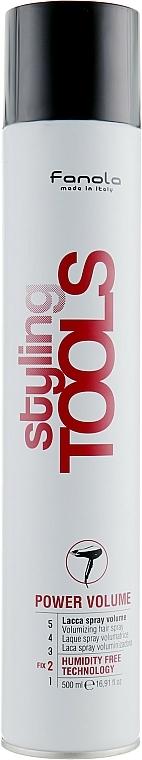 Volume Spray - Fanola Tools Power Volume Volumizing Hair Spray