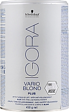 Fragrances, Perfumes, Cosmetics Lightening Powder - Schwarzkopf Professional Igora Vario Blond Plus