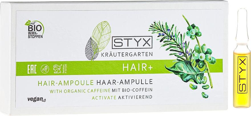 Bio-Caffeine Hair Ampoules - Styx Naturcosmetic Haar Balsam mit Melisse
