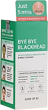 Fragrances, Perfumes, Cosmetics Blackhead Bubble Cleanser - Some By Mi Blackhead 30Days Miracle Green Tea Tox Bubble Cleanser
