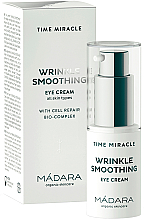 Fragrances, Perfumes, Cosmetics Eye Cream - Madara Cosmetics Time Miracle Wrinkle Smoothing Eye Cream