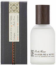 Fragrances, Perfumes, Cosmetics Bath House Spanish Fig and Nutmeg - Eau de Cologne