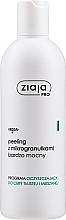 Fragrances, Perfumes, Cosmetics Extra Strong Face Peeling with Microgranules - Ziaja Pro Very Strong Peeling With Microgranules