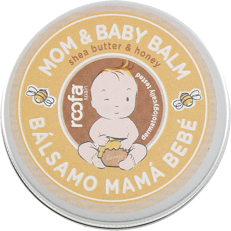 """Balm for Mother and Child """"Shea Butter and Honey"""" - Roofa Shea Butter & Honey Mom & Baby Balm"""