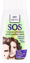 Fragrances, Perfumes, Cosmetics Anti Hair Loss Shampoo - Bione Cosmetics SOS Shampoo with Anti Hair Loss Ingredients