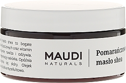 "Fragrances, Perfumes, Cosmetics Unrefined Shea Butter ""Orange"" - Maudi"