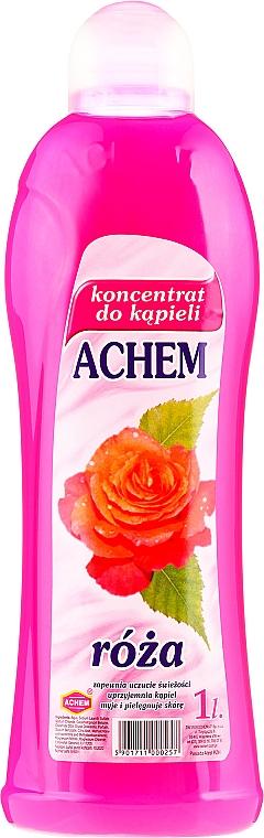 """Liquid Bath Concentrate """"Rose"""" - Achem Concentrated Bubble Bath Rose"""