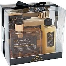 Fragrances, Perfumes, Cosmetics Set - Beeing True (sh/gel 250ml +sh/balm 250ml + bath/f 100ml + peel/100ml)