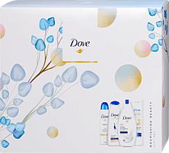 Fragrances, Perfumes, Cosmetics Set - Dove (sh/gel/250ml + b/lot/250ml + deo/150ml + shmp/250ml)