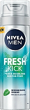 Fragrances, Perfumes, Cosmetics Shaving Foam - Nivea For Men Fresh Kick Shaving Foam