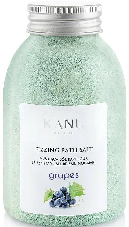 "Fizzy Bath Salt ""Grape"" - Kanu Nature Grapes Fizzing Bath Salt"