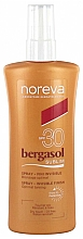 Fragrances, Perfumes, Cosmetics Body Sun Oil - Noreva Laboratoires Bergasol Sublim Satiny Sun Oil SPF30