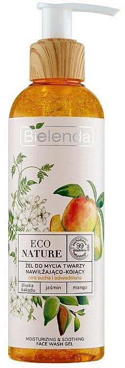 Facial Cleansing Gel - Bielenda Eco Nature Kakadu Plum, Jasmine and Mango