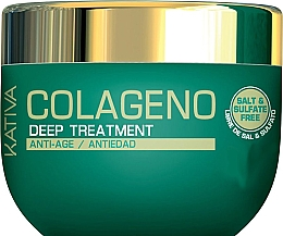 Fragrances, Perfumes, Cosmetics Intensive Collagen Mask for All Hair Types - Kativa Colageno Deep Treatment
