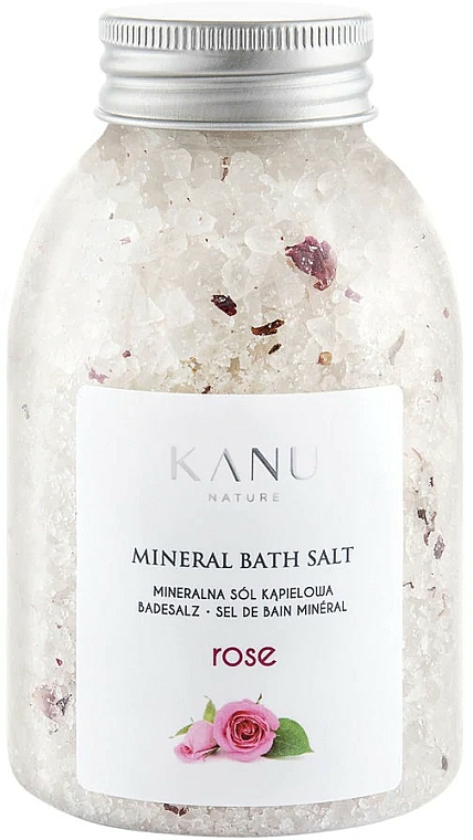 "Mineral Bath Salt ""Rose"" - Kanu Nature Rose Mineral Bath Salt"