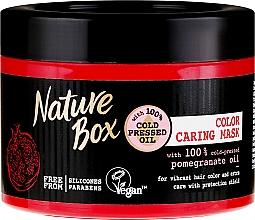 Fragrances, Perfumes, Cosmetics Intensive Hair Color Preserving Mask - Nature Box Pomegranate Oil Maska