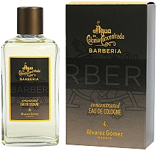 Fragrances, Perfumes, Cosmetics Alvarez Gomez Agua De Colonia Concentrada Barberia - Eau de Cologne