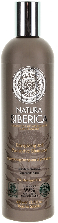 "Dull and Weakened Hair Shampoo ""Protection and Energy"" - Natura Siberica — photo N1"