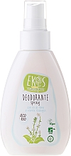 Fragrances, Perfumes, Cosmetics Natural Deodorant with Mint & Thyme - Ekos Personal Care