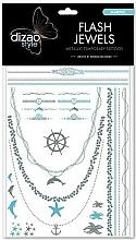 "Fragrances, Perfumes, Cosmetics Temporary Tattoos ""Sea"" - Dizao Flash Jewels"