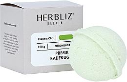 Fragrances, Perfumes, Cosmetics Lemongras Bath Bomb - Herbliz CBD