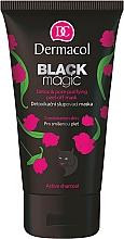 Fragrances, Perfumes, Cosmetics Peel Off Face Mask - Dermacol Black Magic Detox&Pore Purifying Peel-Off Mask
