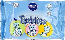 Fragrances, Perfumes, Cosmetics Baby Wet Wipes - Nivea Baby Toddies Multifunctional Napkins