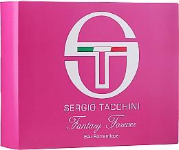 Fragrances, Perfumes, Cosmetics Sergio Tacchini Fantasy Forever Eau Romantique - Set (edt/50ml + bag/1pc)