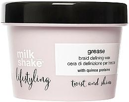 Fragrances, Perfumes, Cosmetics Hair Styling Wax - Milk Shake Lifestyling Grease Braid Defining Wax