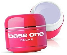 Fragrances, Perfumes, Cosmetics Nail Clear Gel Polish - Silcare Base One Clear