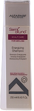 Fragrances, Perfumes, Cosmetics Tone-Up Hair Shampoo - AlfaParf Semi Di Lino Scalp Care Energizing Shampoo