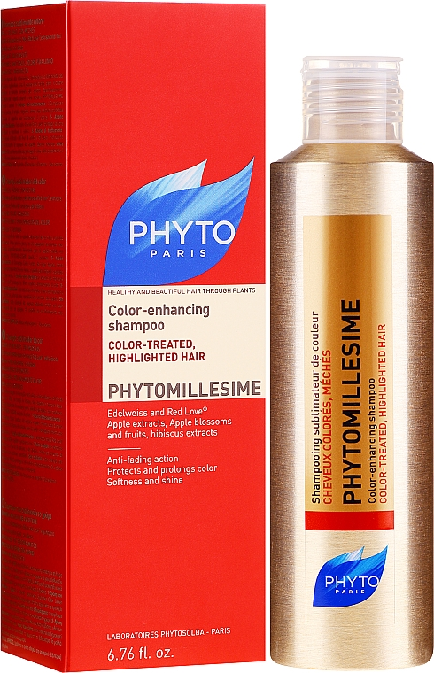 Colored Hair Shampoo - Phyto Phytomillesime Color-Enhancing Shampoo