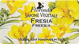 Fragrances, Perfumes, Cosmetics Natural Soap 'Freesia' - Florinda Sapone Vegetale Freesia