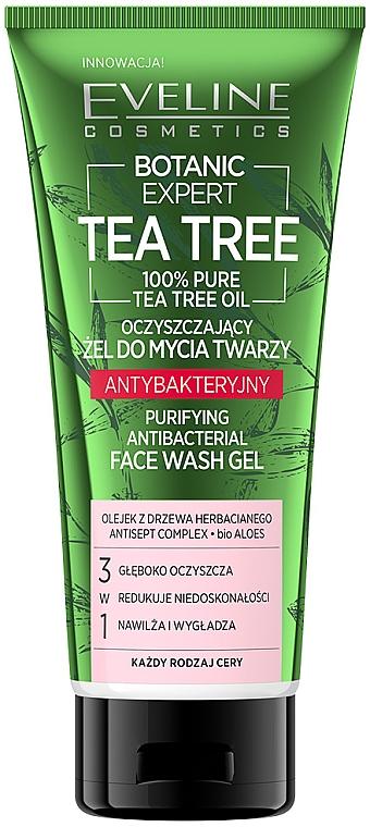 Face Gel - Eveline Cosmetics Botanic Expert Tea Tree Face Wash Gel