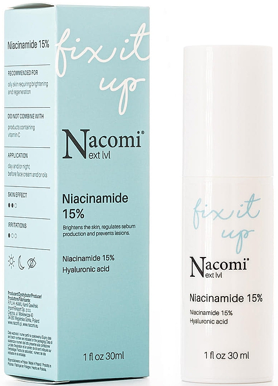 Niacinamide 15% Face Serum - Nacomi Next Level Niacinamide 15% — photo N1