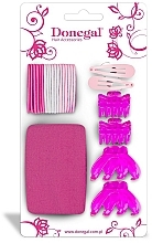 Fragrances, Perfumes, Cosmetics Hair Accessories Set FA-5481, 25 pcs - Donegal