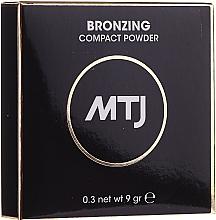 Fragrances, Perfumes, Cosmetics Face Bronzing Powder - MTJ Cosmetics Bronzing Compact Powder