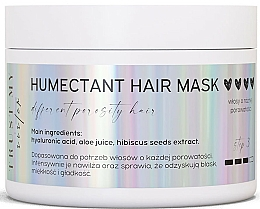 Fragrances, Perfumes, Cosmetics Moisturizing Mask for Different Porosity Hair - Trust My Sister Humectant Hair Mask