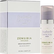 Fragrances, Perfumes, Cosmetics Balancing Face Serum - Isabelle Lancray Zensibia Ultrazen Serum Equilibrant